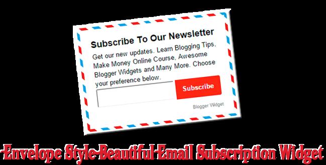 beautiful-blogger-email-subscription-widget