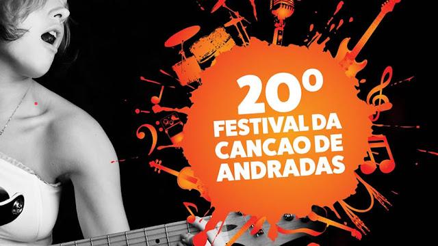 20° Festival da Canção de Andradas tem inscrições abertas até o dia 27 de abril