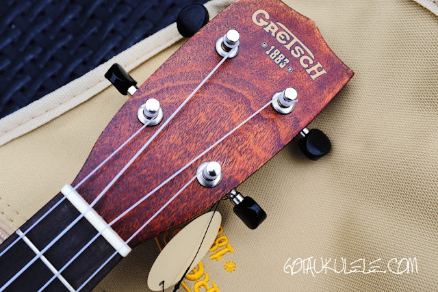 Gretsch G9110 Ukulele headstock