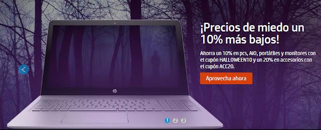 Mejores ofertas Halloween HP Store