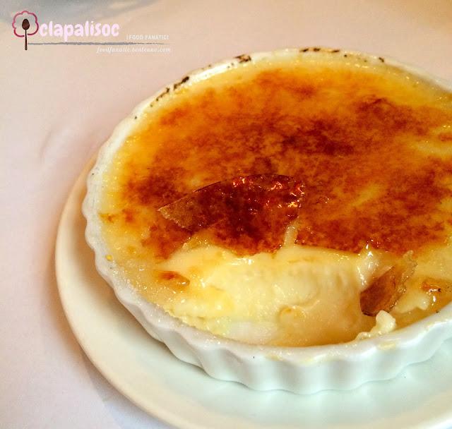 Creme Brulee from L'entrecôte