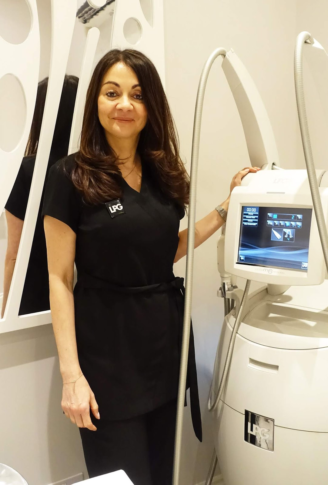 Sue Ali, advanced LPG practitioner, at her salon in Loughton, Essex