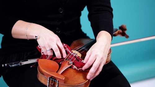 ve sinh dan violin