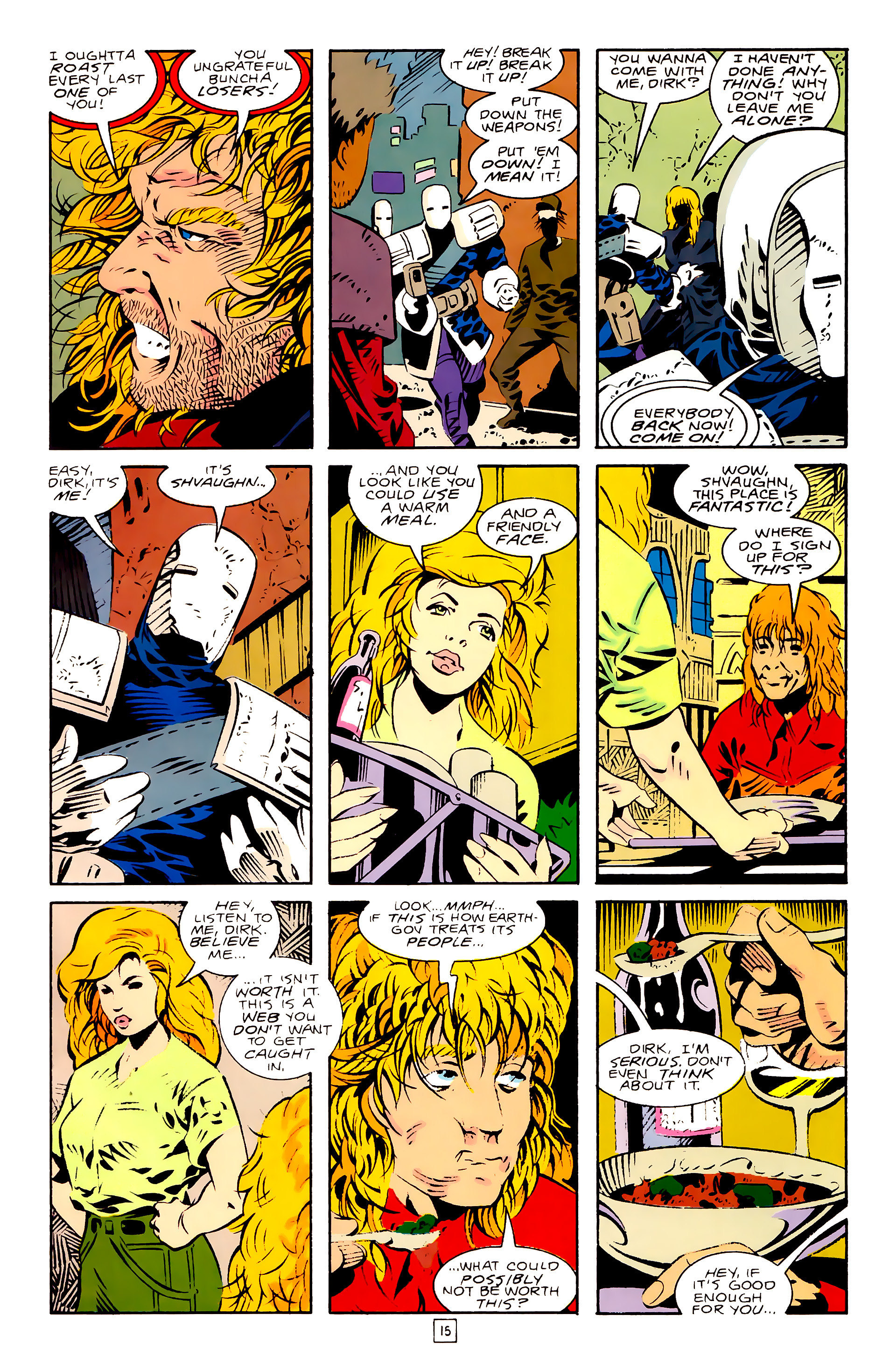 Legion of Super-Heroes (1989) 28 Page 15