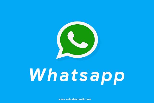 Cara Membuat Tombol Chat Whatsapp di Blog Melayang