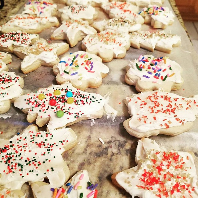 Christmas Cutout Butter Cookies