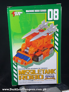 Missiletank Robo - Gobots Guardian Blaster - box