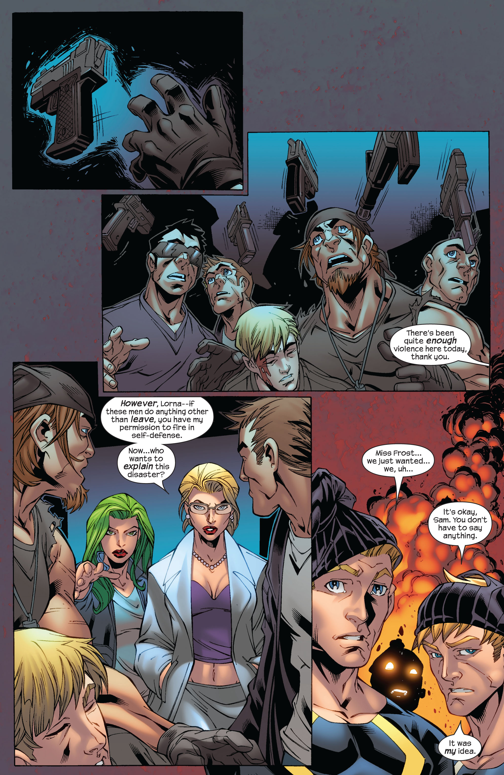 Read online Ultimate X-Men comic -  Issue #75 - 35