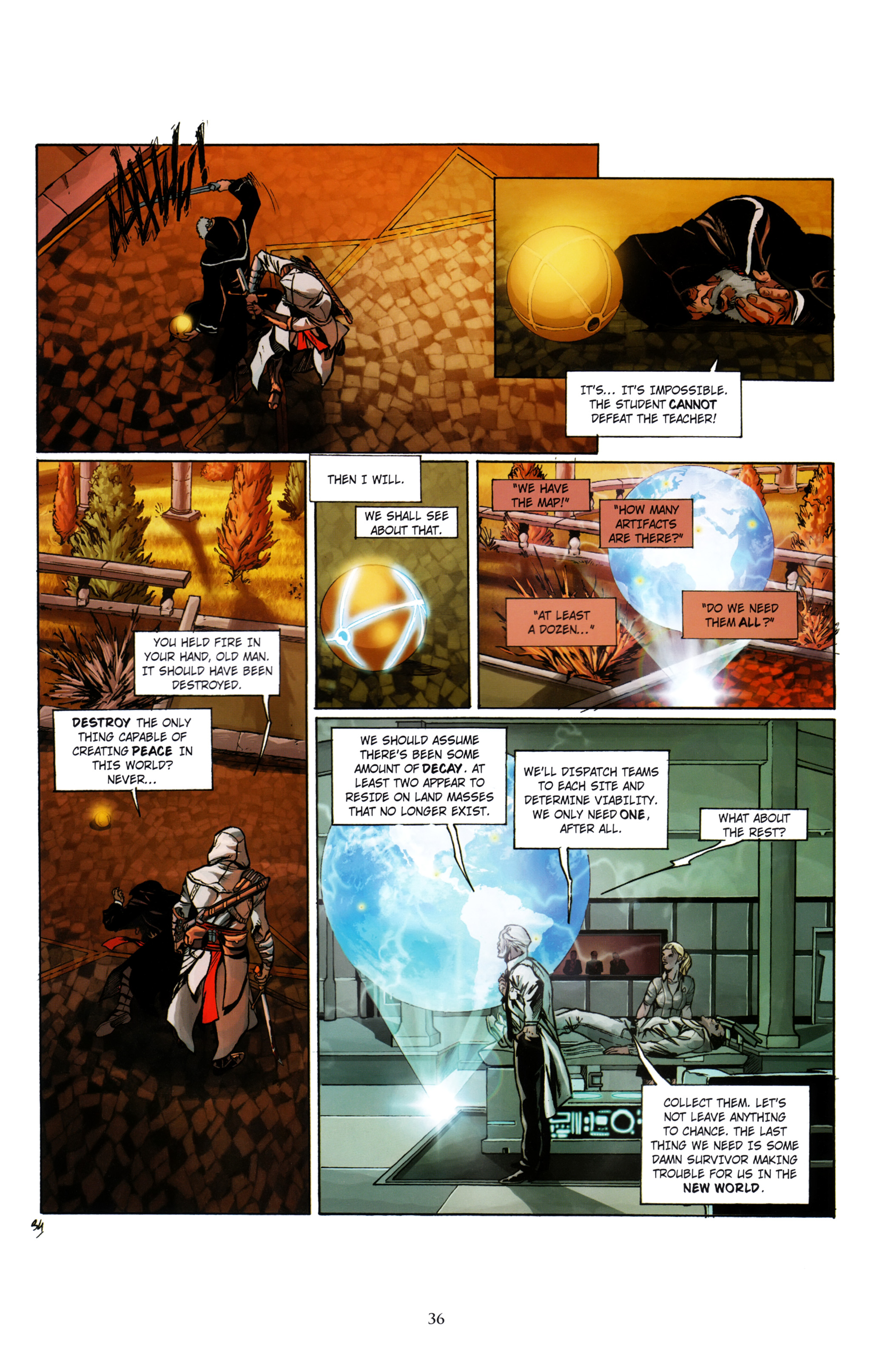 Read online Assassin's Creed (2012) comic -  Issue #1 - 40