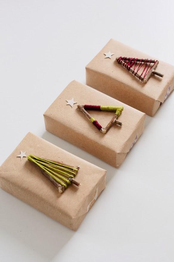 decoracion regalos reciclada