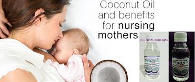 VCO untuk Ibu Hamil dan menyusui