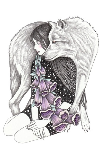 """Witches gloves"" by Andrea Hrnjak 