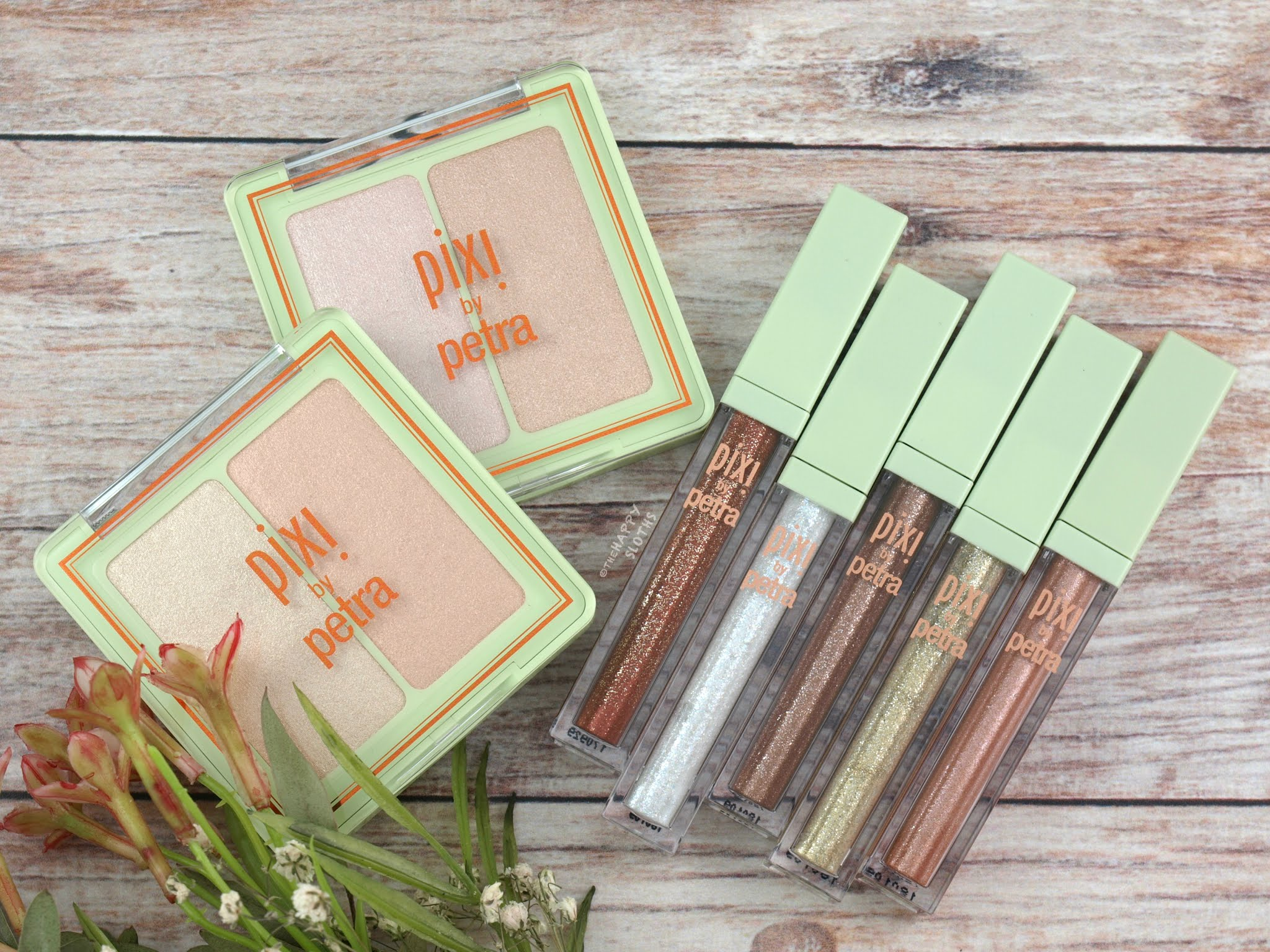 Pixi | Glow-y Gossamer Duo & Liquid Fairy Lights Eyeshadow: Review and Swatches