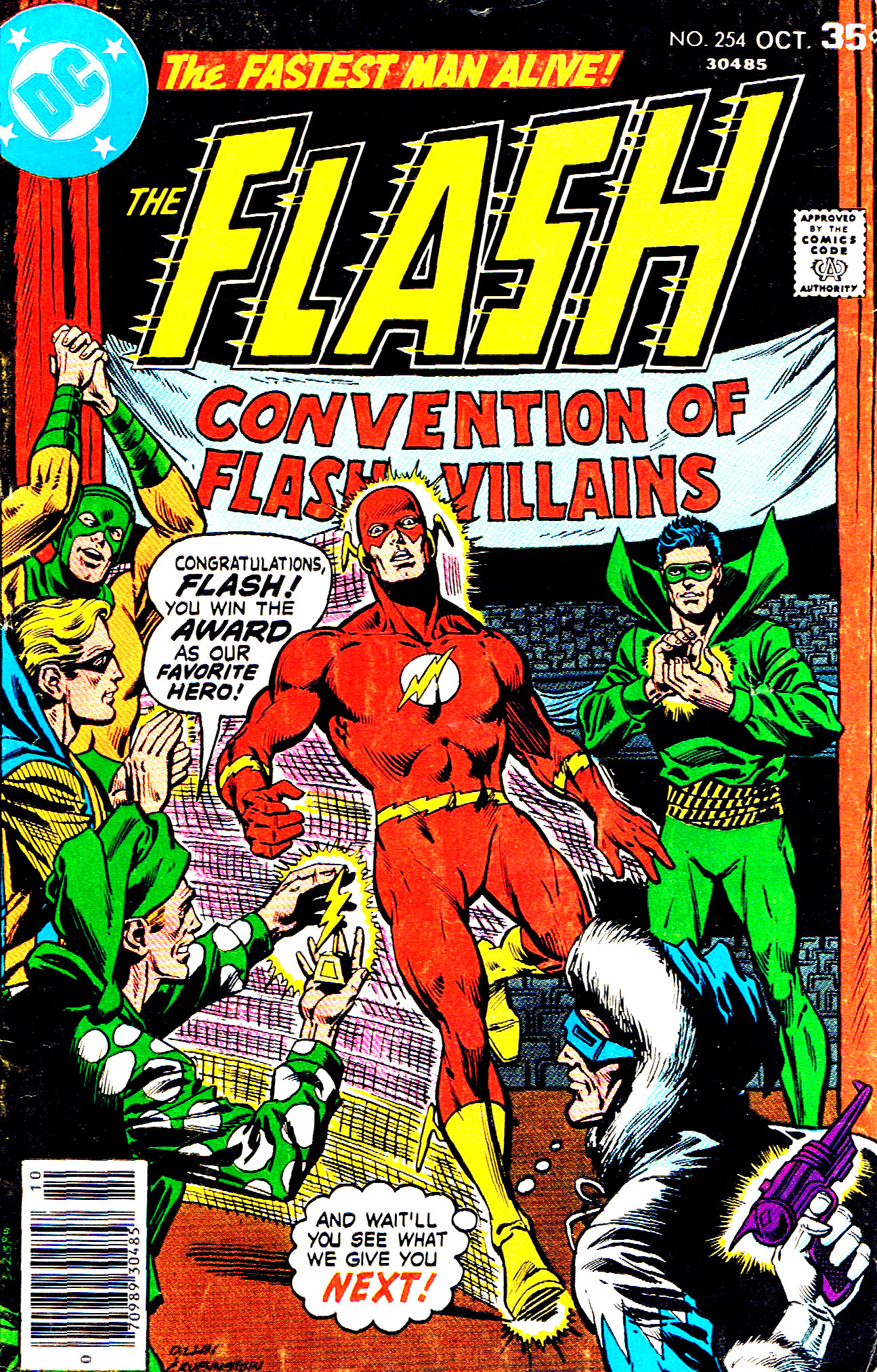 The Flash (1959) 254 Page 1