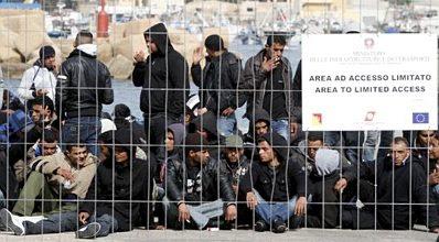 Lampedusa refugees #21