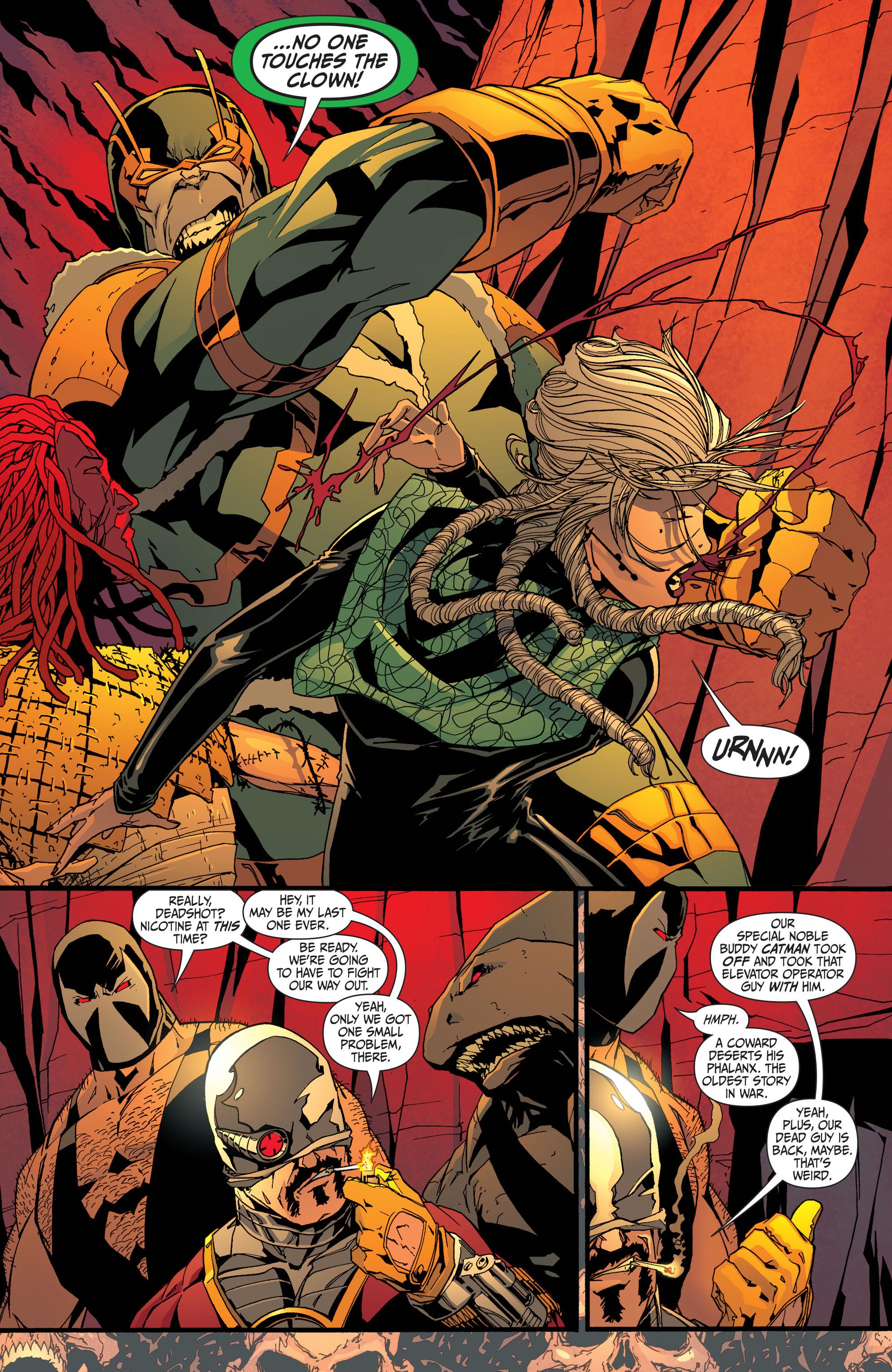 Read online Secret Six (2008) comic -  Issue #32 - 7