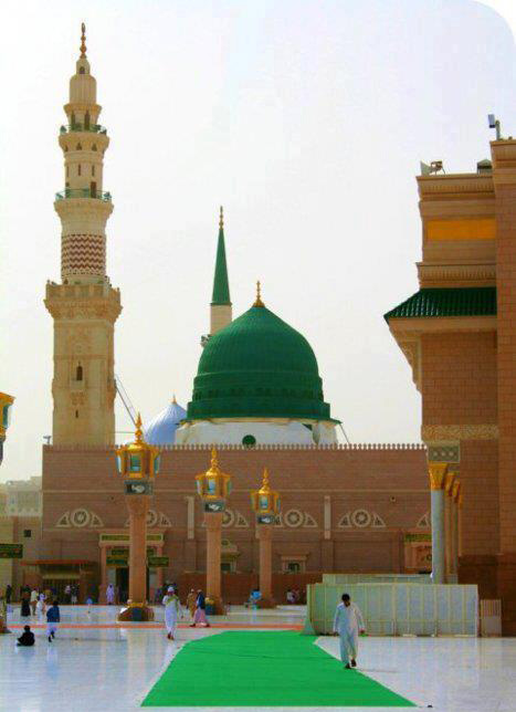 Beautiful Masjide Nabvi ~ Welcome To Network of Islam