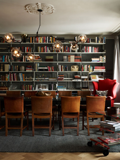 Ilse Crawford interior dining room design