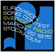1975 Eurovision Song Contest Logo