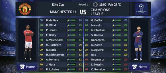 Dream League Soccer 2019 Mod UEFA Champions League for Android