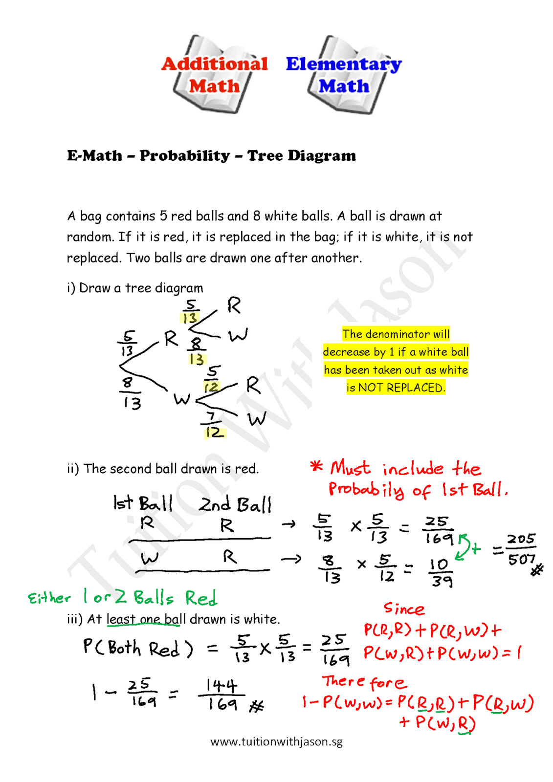 What Is A Tree Diagram In Math Kenwood Home Stereo Wiring E Probability Singapore Additional