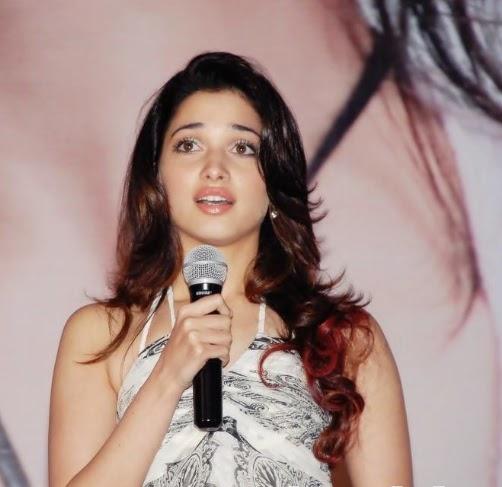 Tamanna In Saree In Rebel: Tamanna: Tammu @ Priya Priyatama Audio Launch