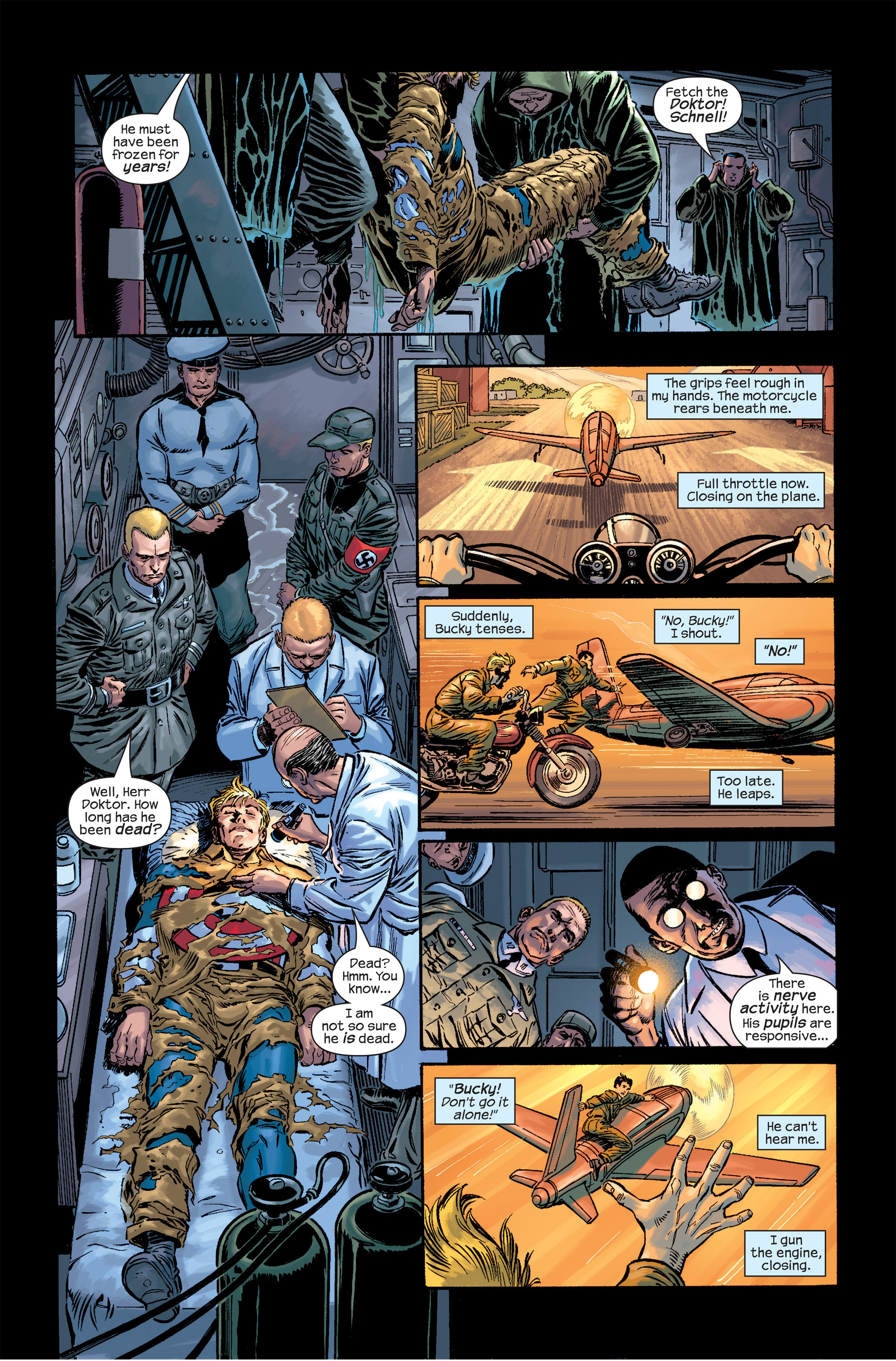 Captain America (2002) Issue #17 #18 - English 7
