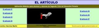 http://cplosangeles.juntaextremadura.net/web/lengua3/articulo/indice.htm