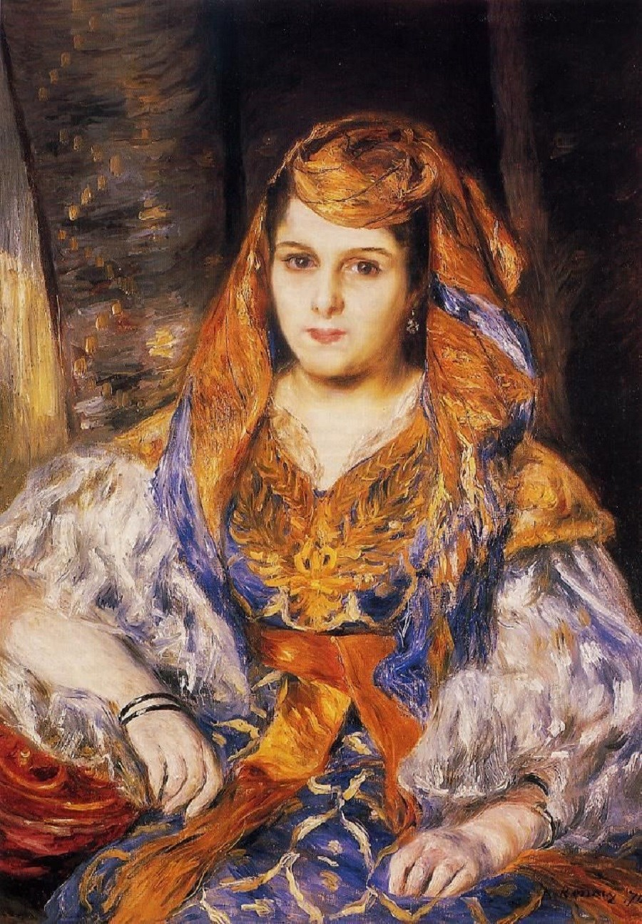 It 39 s about time orientalism by pierre auguste renoir for Auguste renoir