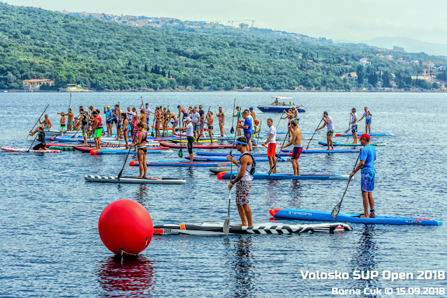 3.Volosko SUP open regata @ 15.09.2018
