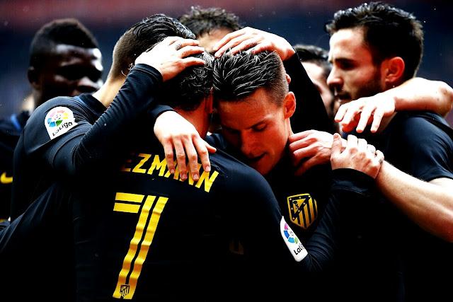 No Molinón, Simeone fez a diferença mais uma vez para o Atlético