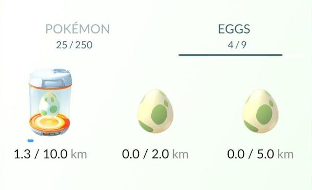 Cara Mengetahui Isi Telur Pokemon Berdasarkan Jarak 2KM 5KM 10KM (Kilometer), Daftar isi Pokemon yang didapat dari telur, Isi dari telur pokemon go 2k, isi telur pokemon go 5km, isi telur pokemon go 10km.