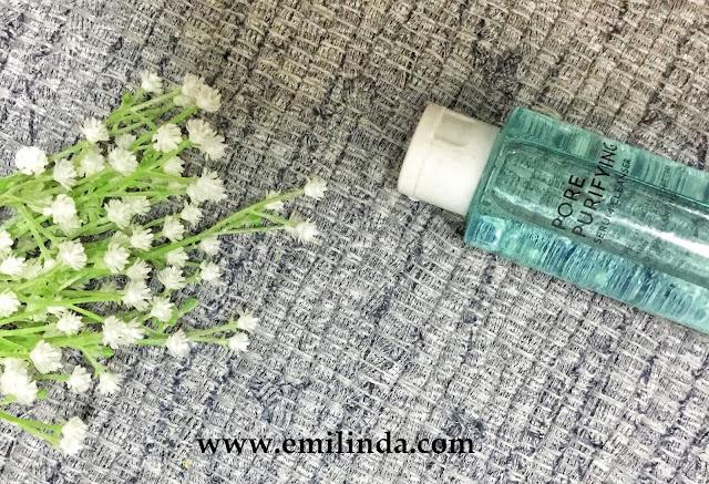 Cara Saya Tanggalkan Mekap Menggunakan Althea Pore Purifying Serum Cleanser