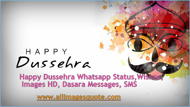 Happy Dussehra Whatsapp Status, Wishes, Images HD, Dasara Messages, SMS