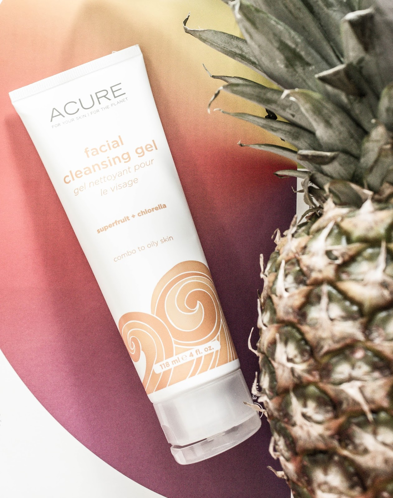 Acure Organics, Facial Cleansing Gel, SuperFruit + Chlorella Growth Factor review