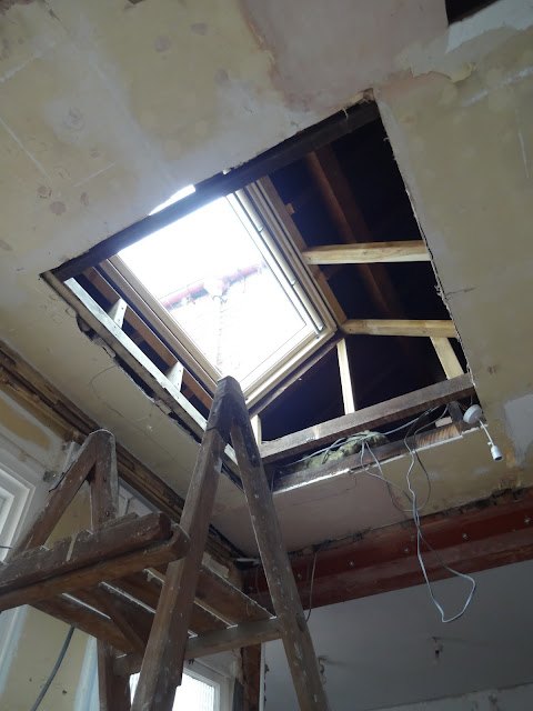 velux window with tunnel