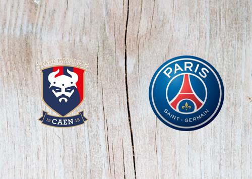 Caen vs Paris Saint-Germain Full Match & Highlights 2 March 2019