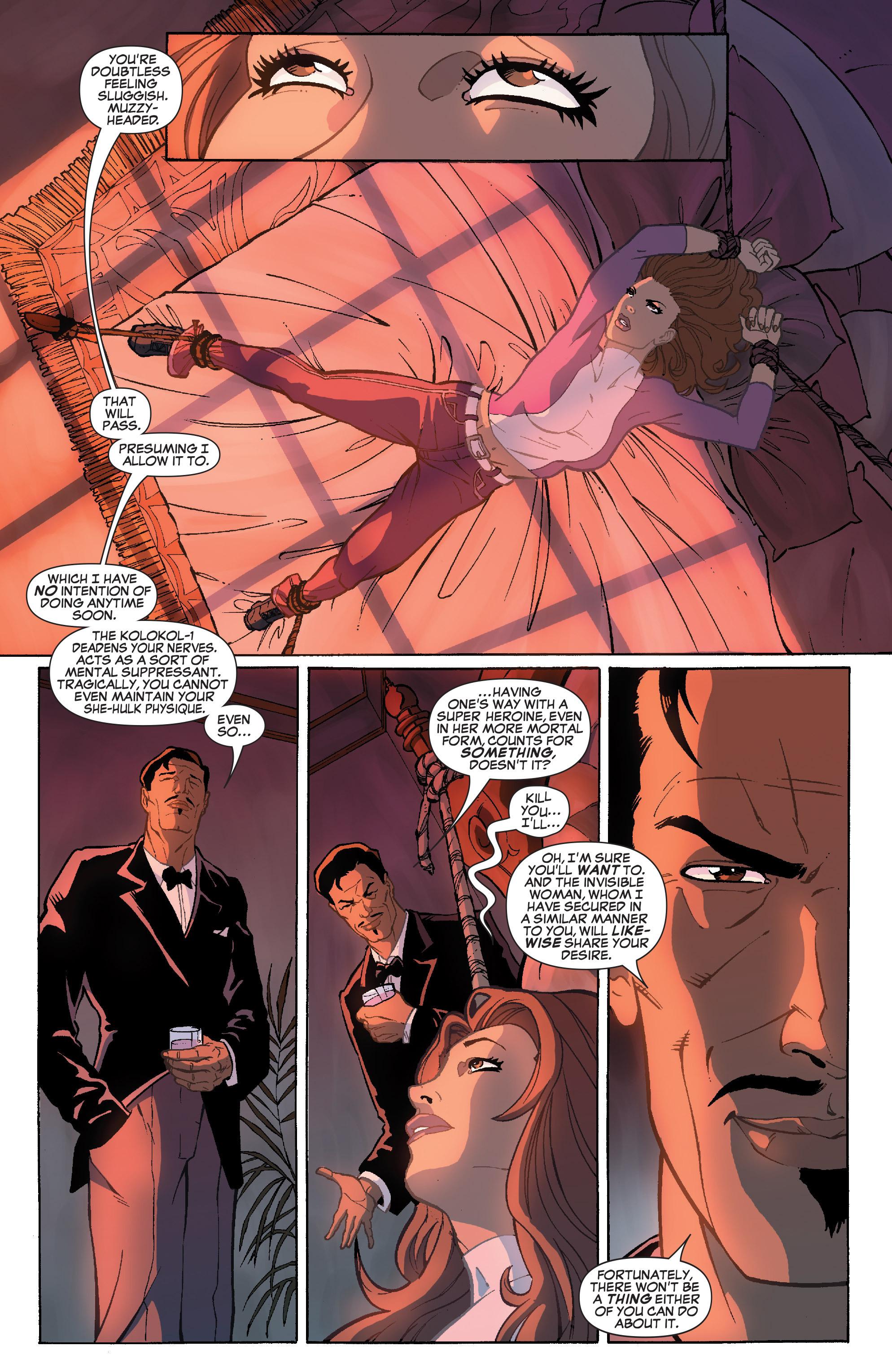 Read online She-Hulk (2005) comic -  Issue #36 - 12
