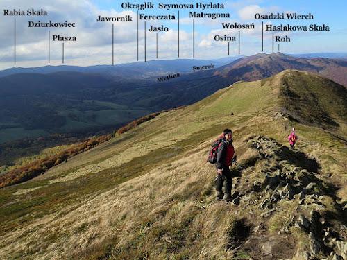 Panorama na zachód.