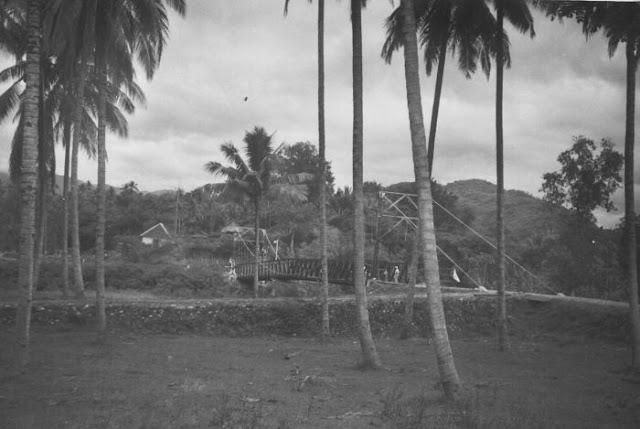Collectie Tropenmuseum: Jembatan Gantung di Kab. Enrekang (Tahun 1920-1940)