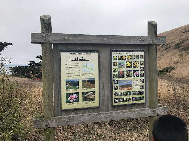Chimney Rock Trailhead sign