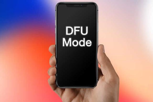 كيفية وضع الايفون في الركفري مود DFU mode