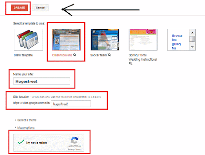 How to build, setup a free website on Google sites