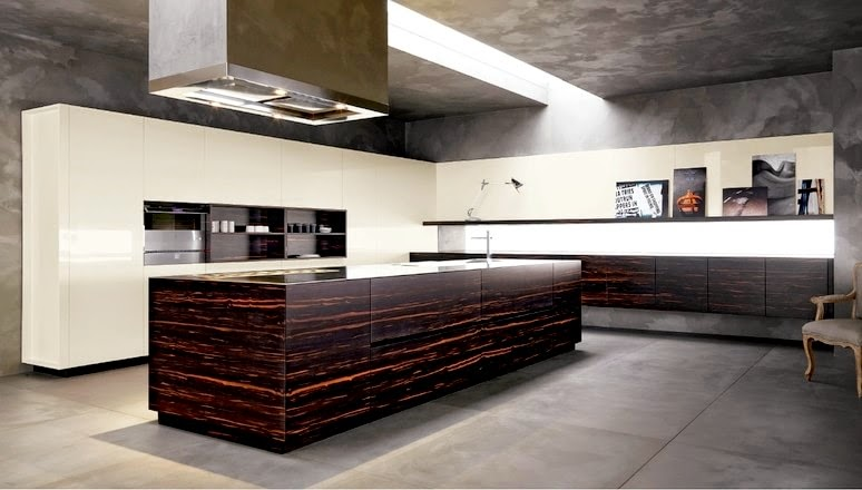 El peculiar veteado de la madera cocinas con estilo for Cocinas modernas 2015