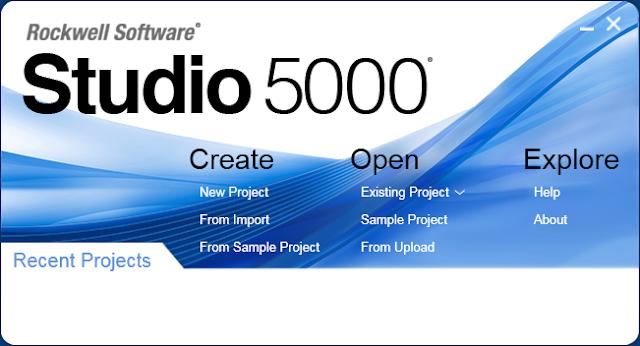 Crear un proyecto nuevo en Studio 5000