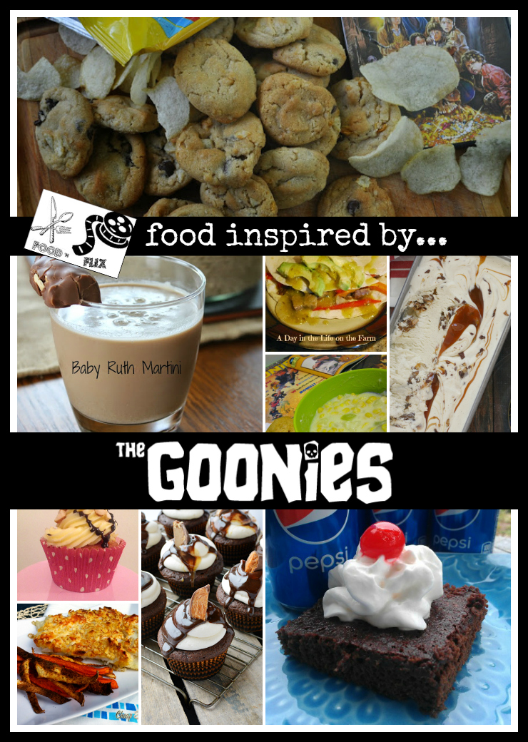 Food inspired by The Goonies for Food 'n Flix