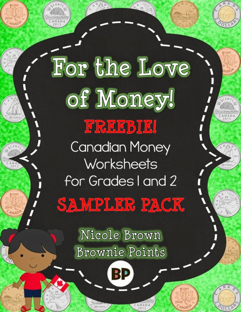 http://www.teacherspayteachers.com/Product/Canadian-Money-Worksheets-Freebie-1247532