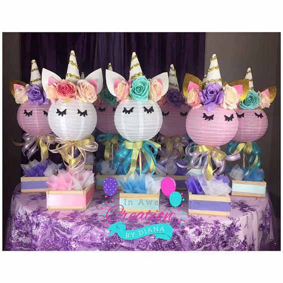 Unicorn Party Fiesta Temática De Unicornio Artes Davinci
