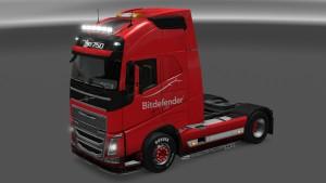 Bitdefender Volvo 2012 skin mod