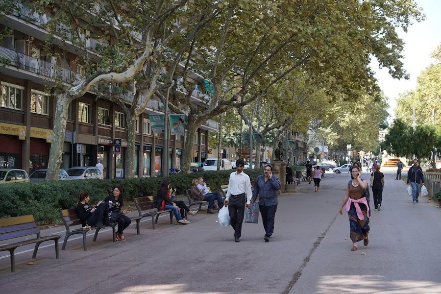 サン・ジュアン通り(Passeig de San Joan)